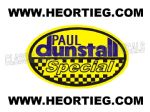 Paul Dunstall Special Tank and Fairing Transfer Decal DDUN4-8